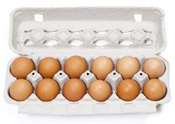 Brown Eggs - 12 Pcs